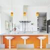 white tilt turn windows fill this modern kitchen with daylight