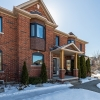 black tilt turn windows update this typical Ontario brick home